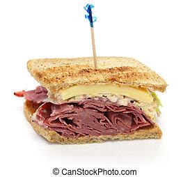 reuben sandwich, pastrami sandwich - reuben sandwich with ...
