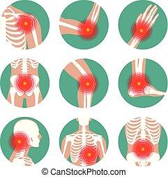 reumático, reumatismo, reumatología, pain., o, coyuntura, ...