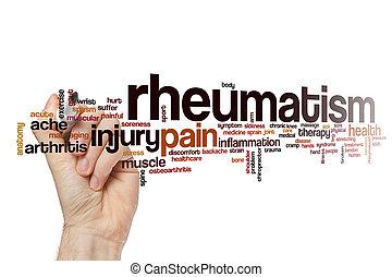 reumatyzm, słowo, chmura