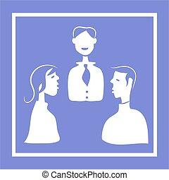 reunião, ícone