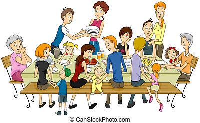 reunião familiar