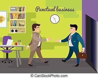 reunião negócio, ilustração