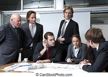 reunión de la oficina