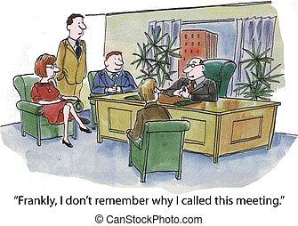 reunión, personal