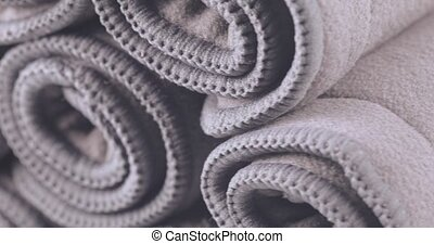 Reusable washable liners for diapers - Bamboo Charcoal...