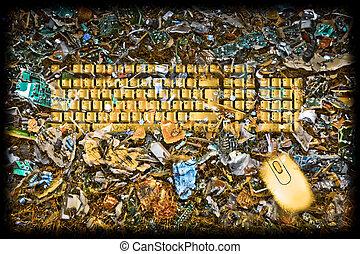 Reuse E scrap concept  - Reuse E scrap concept