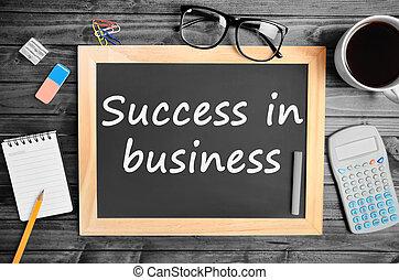 reussite, business, mots