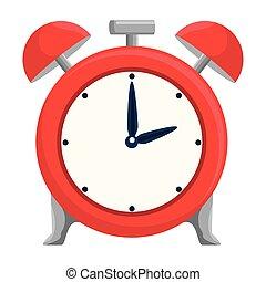 reveil, icône, rappel, horloge, temps