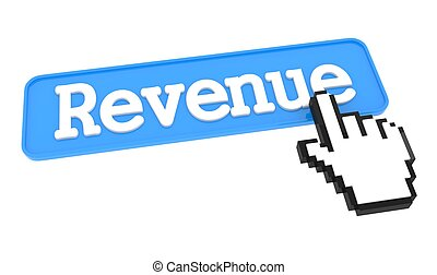 Revenue Button with Hand Cursor.