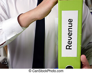 Revenue phrase on the page.