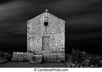 Reverence - The Chapel of Mary Magdalene at Dingli Cliffs in...
