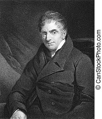 Reverend William Holwell Carr (1758-1830) on engraving from ...
