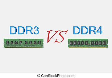 reviev DDR3 versus DDR4 concept