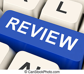 Review Key Means Revaluate Or Reassess - Review Key On...