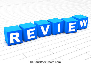 Review word illustration
