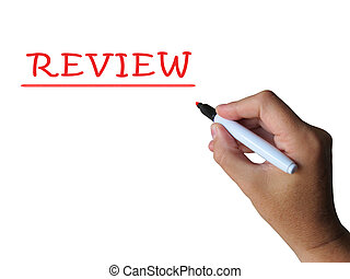 Review Word Means Analysis Checking And Feedback