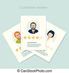 Reviewer opinion - customer review of service, rating ...