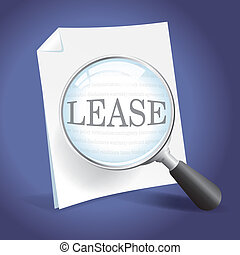 Reviewing a Lease Agreement - Examining a Lease Agreement...