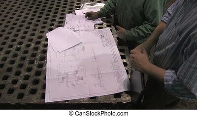Reviewing Blueprints in Factory 2