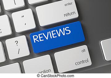 Reviews - Blue Button.