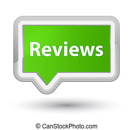 Reviews prime soft green banner button