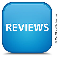 Reviews special cyan blue square button