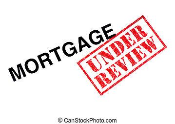 revisão, hipoteca, sob