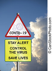 Revised UK government prevention message