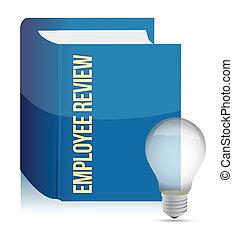 revisión del empleado, concepto