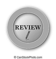 revisión, icono
