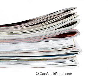revistas, isolado