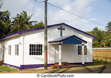 Revival Tabernacle Church Corn Island Nicaragua Centra - Big...