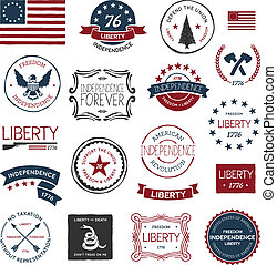 revolución americana, diseños