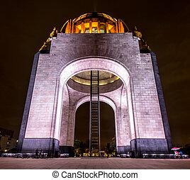 revolución, mexicano, monumento