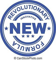 revolucionario, nuevo, fórmula
