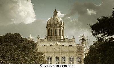 revolutie, havanna, museum, timelapse, cuba