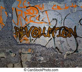 Revolution Graffiti