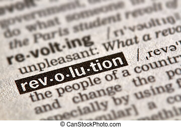 revolution, ord, definition, text
