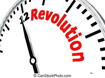 Revolution - Rendered artwork with white background