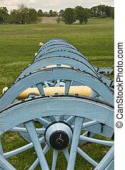 Revolutionary War Cannons - Revolutionary war cannons at...