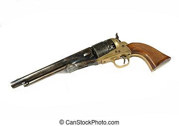 revolver-black powder