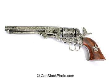 Revolver - Old fashioned western style revolver