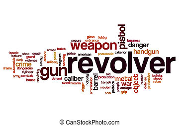 Revolver word cloud