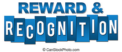 Reward And Recognition Professional Blue Stripes - Reward...