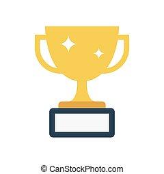 reward flat icon