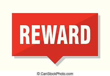 reward red tag