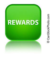 Rewards special green square button