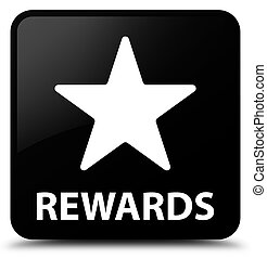 Rewards (star icon) black square button