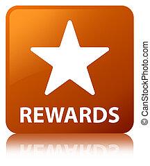 Rewards (star icon) brown square button