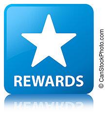 Rewards (star icon) cyan blue square button